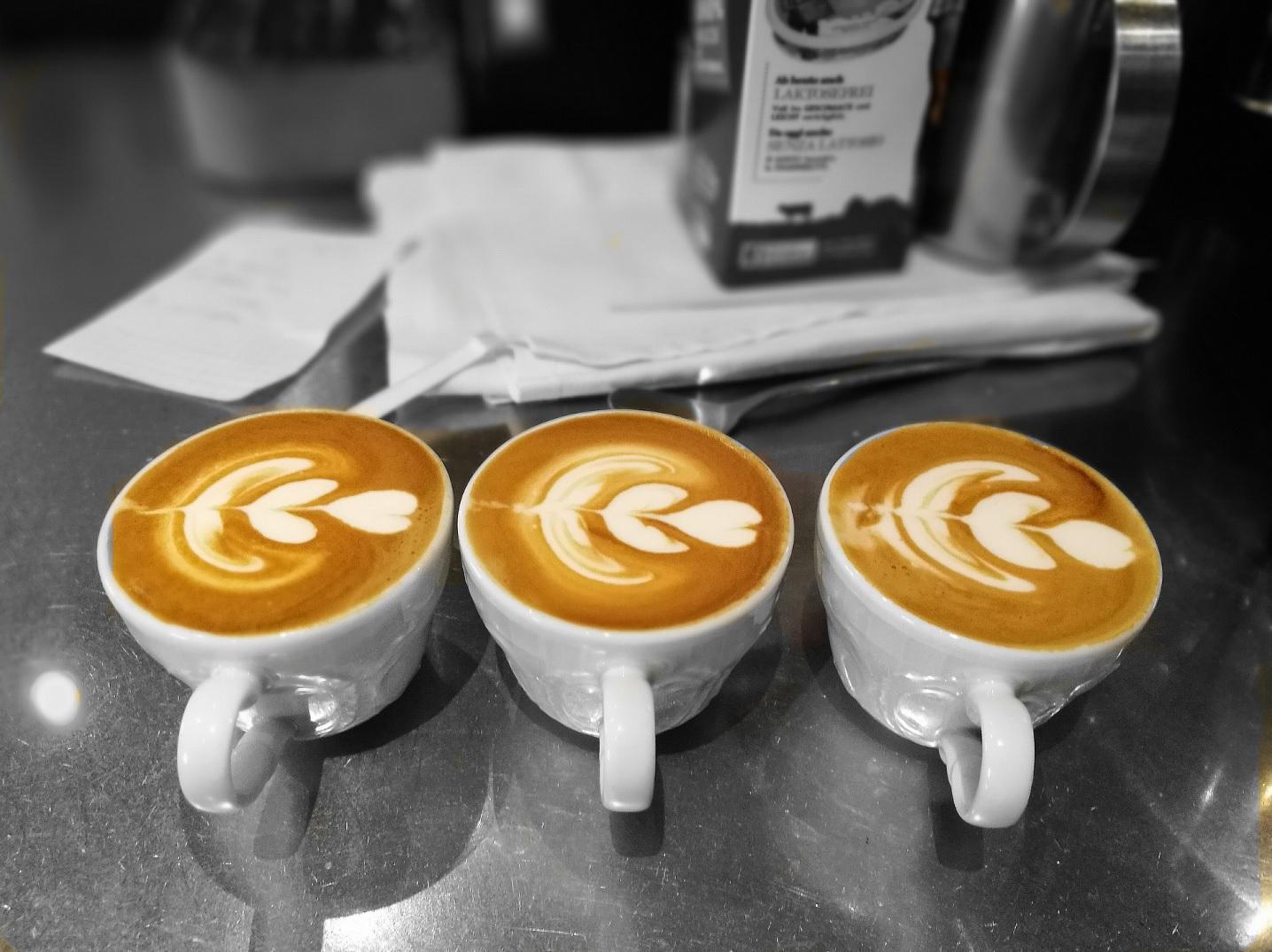 Koffie schenken als een echte barista
