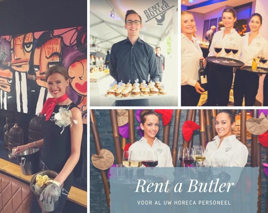 Rent a Butler horeca personeel
